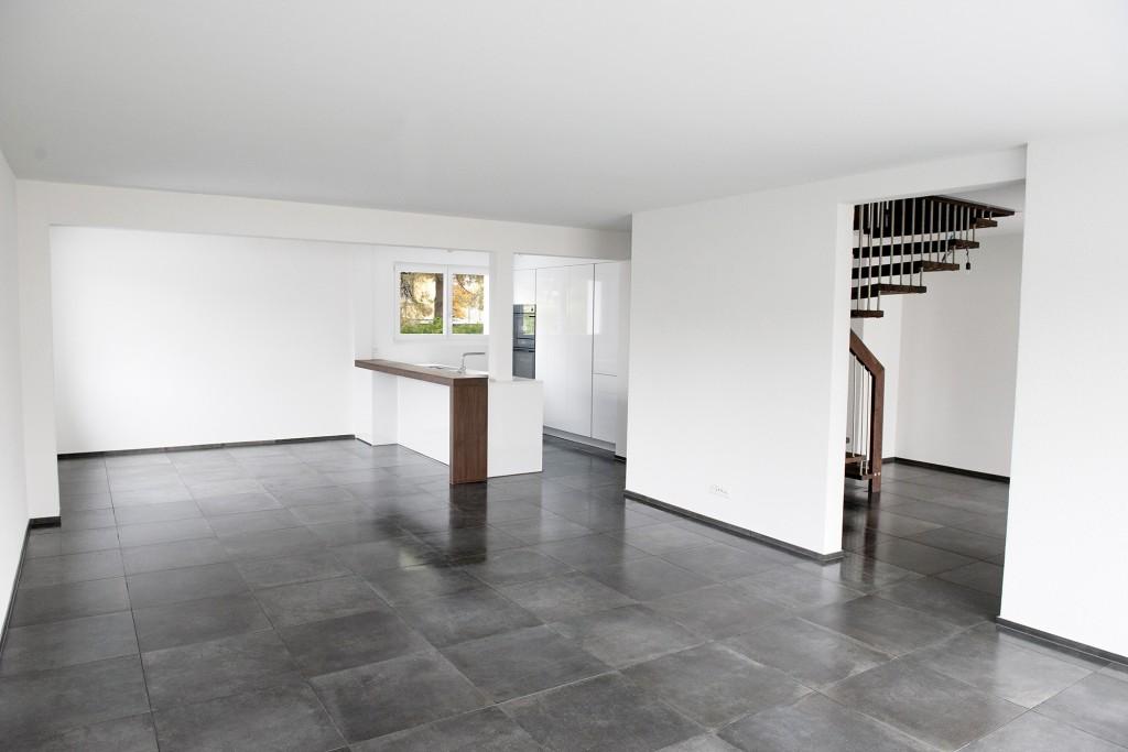 Wohnzimmer, EFH Altenrhein