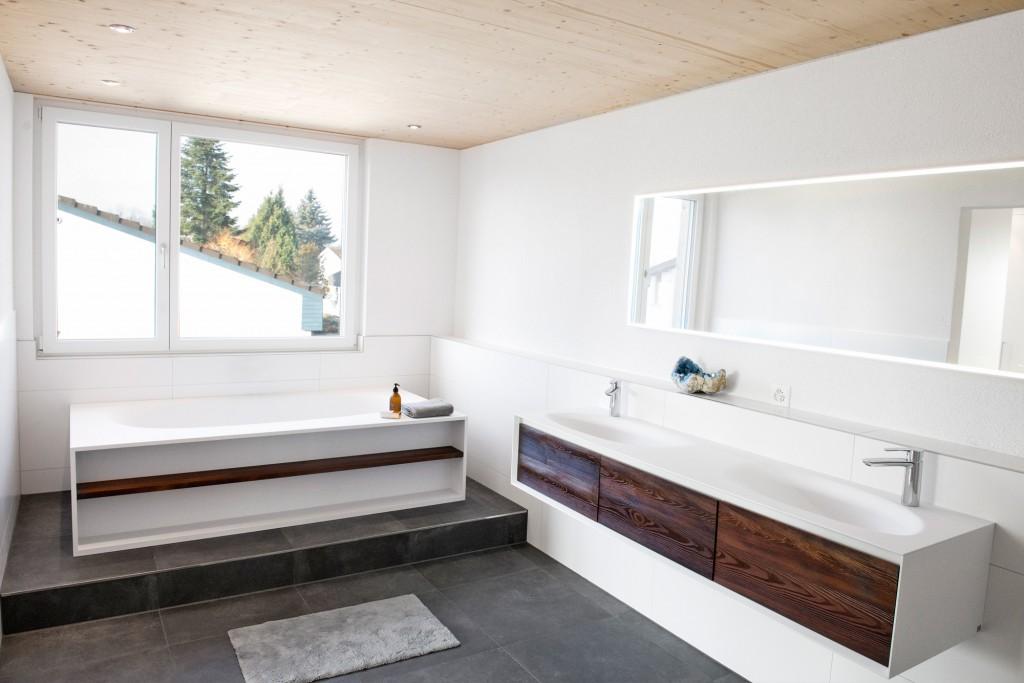 Designermöbel von Falper, Feinsteinzeugplatten, 60x60cm, EFH Altenrhein